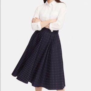 Uniqlo midi circle skirt